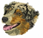 aussie017 Australian Shepherd (small or large design)