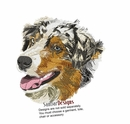 aussie018 Australian Shepherd (small or large design)