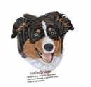 aussie038 Australian Shepherd (small or large design)