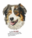 aussie045 Australian Shepherd (small or large design)