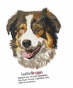 aussie046 Australian Shepherd (small or large design)