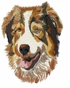 aussie047 Australian Shepherd (small or large design)