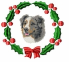 aussie1wreath Holiday Designs (small or large design)
