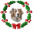 aussie3wreath Holiday Designs (small or large design)
