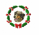 aussie4wreath Australian Shepherd (small or large design)