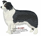 bordercollie005 Border Colllie (small or large design)