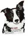 bordercollie019 Border Colllie (small or large design)