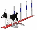 bordercollie021 Border Colllie (small or large design)