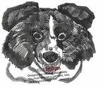 bordercollie027 Border Colllie (small or large design)