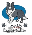 bordercollie028 Border Colllie (small or large design)