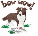 bordercollie029 Border Colllie (small or large design)