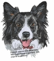 bordercollie030 Border Colllie (small or large design)