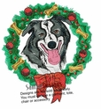 bordercollie037 Border Colllie (small or large design)