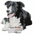 bordercollie038 Border Colllie (small or large design)