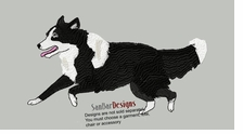 bordercollie073  Border Collie(small or large design)