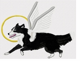bordercollie074  Border Collie(small or large design)