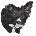 bordercollie083 Border Collie  (small or large design)