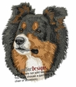 bordercollie100 Border Collie (small or large design)