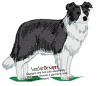 bordercollie101 Border Collie  (small or large design)