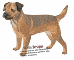 borter001 Border Terrier (small or large design)