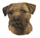 borter002 Border Terrier (small or large design)
