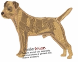 borter004 Border Terrier (small or large design)