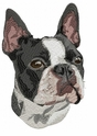 boston001 Boston Terrier (small or large design)