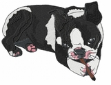 boston004 Boston Terrier (small or large design)