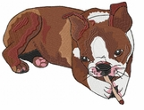 boston006 Boston Terrier (small or large design)
