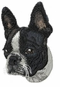 boston007 Boston Terrier (small or large design)