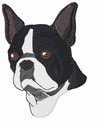 boston022 Boston Terrier (small or large design)