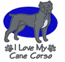 canecorso004 Cane Corso (small or large design)
