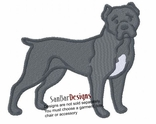 canecorso005 Cane Corso (small or large design)