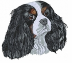 Cavalier King Charles Spaniel  (small or large design)