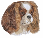 ckcs004 Cavalier King Charles Spaniel (small or large design)