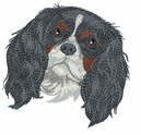 ckcs005 Cavalier King Charles Spaniel (small or large design)