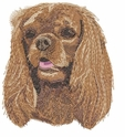 ckcs006 Cavelier King Charles Spaniel (small or large design)