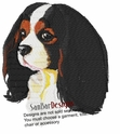 ckcs010 Cavalier King Charles Spaniel (small or large design)