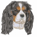 ckcs017 Cavalier King Charles Spaniel (small or large design)