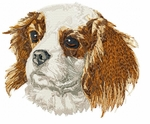 ckcs020 Cavalier King Charles Spaniel (small or large design)