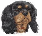 ckcs024 Cavalier King Charles Spaniel (small or large design)