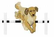 golden002 Golden Retriever (small or large design)