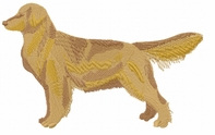 golden009 Golden Retriever (small or large design)