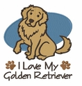golden025 Golden Retriever (small or large design)