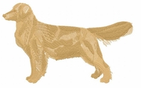 golden029 Golden Retriever (small or large design)