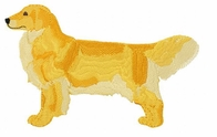 golden045 Golden Retriever (small or large design)