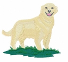 golden074 Golden Retriever (small or large design)