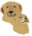 golden092 Golden Retrieve r(small or large design)