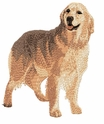golden117 Golden Retriever (small or large design)
