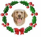 golden1wreath Holiday Designs (small or large design)